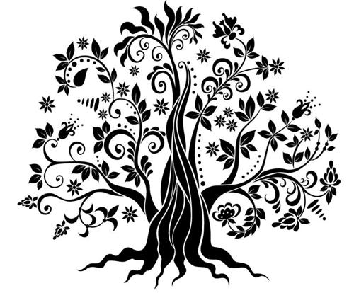 albero ghirigoroso